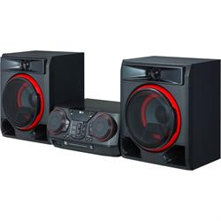 LG Shelf System - 1100W Hi-Fi Shelf System CD play CK57 Image