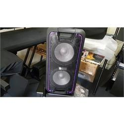 "12"" Speaker Dau1 , Bluetooth, FM,USB  ALCYCLONEII Image"