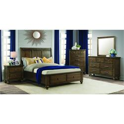 Chatham Queen Bedroom Set DR/MR NS- Hb-Fb & CH CH600QN-CH Image