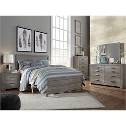 Culverbach Dresser and Miror - Gray and HB B070-31-36-57 Image