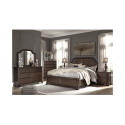 Adinton/Brown  Includes: Headboard/Storage Footboa B517-54S-57-98 Image